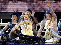 Madonna, Los Angeles, 24 May 2004