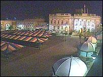 Last webcam shot of Ashton Market Hall - courtesy of Tameside Council
