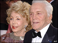 Anne and Kirk Douglas