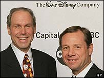 Michael Eisner and Michael Ovitz