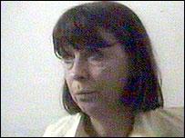 Image of Margaret Hassan shown on al-Jazeera television