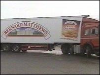 Bernard Matthews truck