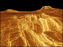 3D surface of Venus   Nasa