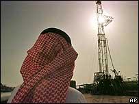 Torre de excavación de petróleo