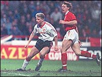 Former Man Utd striker Mark Robins