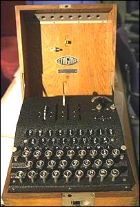 The Enigma machine