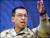 Lieutenant General Ricardo Sanchez