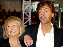 Journalists Judy Finnigan and Richard Madeley