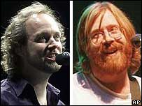 Page McConnell and Trey Anastasio
