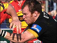 Wasps flanker Johnny O'Connor