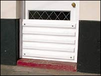 Robert and Peter Jones' door barrier - from Wales Innovators Network