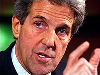 Democratic presidential hopeful John Kerry