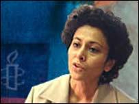 Irene Khan, foto cortesía Amnistía Internacional.