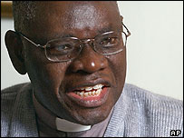 Archbishop Peter Akinola of Nigeria