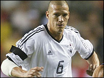 German defender Christian Ziege