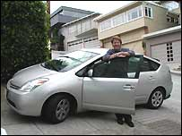 Environmental director Russell Long paid nearly $20,000 for his Prius