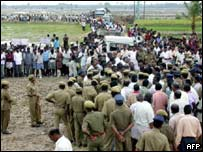 Veerappan funeral