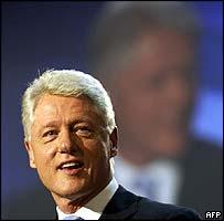 Bill Clinton at the Democrat convention