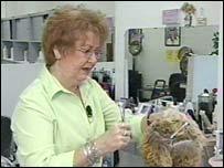 Judy Mills, hairdresser