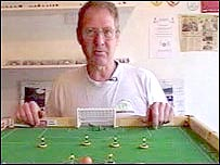 Tom Taylor and Subbuteo