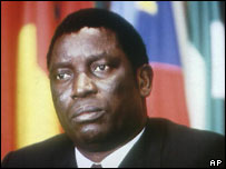 Togo's president, Gnassingbe Eyadema