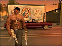 Screenshot from San Andreas