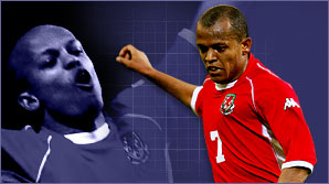 Robert Earnshaw has already scored seven goals in 11 matches for Wales