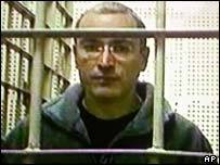Mikhail Khodorkovsky at the Matrosskaya Tishina prison