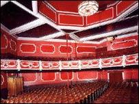 Wrexham Hippodrome's interior