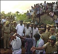 Veerappan's funeral