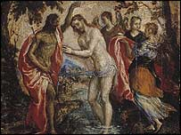 El Greco's The Baptism of Christ