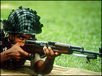Bangladeshi soldier