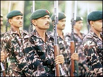 Bangladeshi soldiers