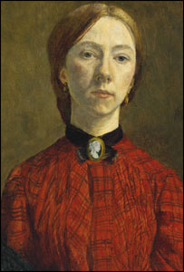 Gwen John Self Portrait (picture courtesy of Tate Britain)