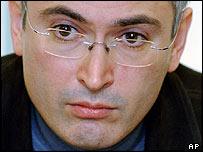Former Yukos chief executive Mikhail Khodorkovsky