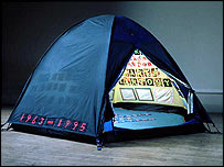 Emin's Everyone I Have Ever Slept With 1963-1995. Photo: Stephen White