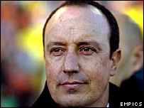 Valencia coach Rafael Benitez