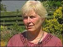Peter Hounam's wife Hilary