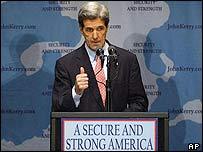 John Kerry, senador demócrata de Estados Unidos.