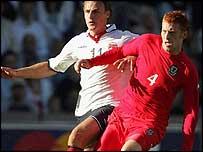 James Collins had an impressive debut
