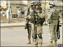Polish troops in Iraq