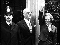 Mrs Thatcher in 1979