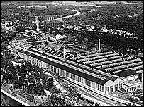 Old industrial works (Picture courtesy of Landsarkivet i Gothenburg, c 130 nohabarkiven_