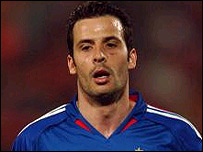 France's Ludovic Giuly