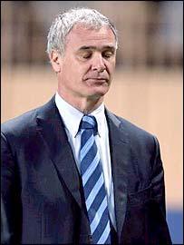 Chelsea boss Claudio Ranieri looks resigned to his fate