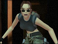 Screenshot from Tomb Raider: Angel of Darkness
