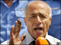 Mordechai Vanunu, released from jail in April 2004