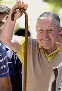 Augusto Pinochet 2001