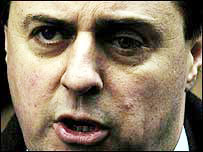 Leader of the BNP Nick Griffin