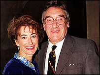 Jack Rosenthal and Maureen Lipman
